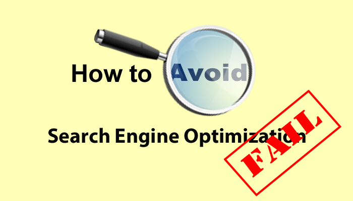 Search Engine Optimization Fail